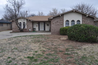 Amarillo Single Family Home For Sale: 5707 48th Ave