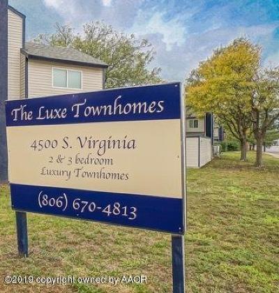 Amarillo Multi Family Home For Sale: 4500 Virginia St