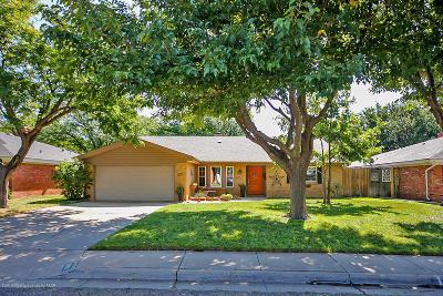 Amarillo Single Family Home For Sale: 3921 Eaton Dr