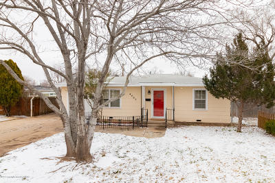 Amarillo Single Family Home For Sale: 4405 Ong St