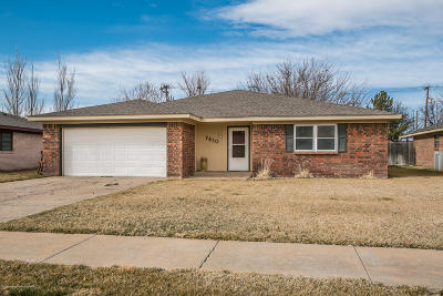 Potter County, Randall County Single Family Home For Sale: 7410 Gainsborough