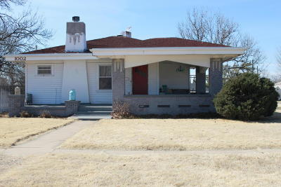 Borger Single Family Home For Sale: 1002 McGee St
