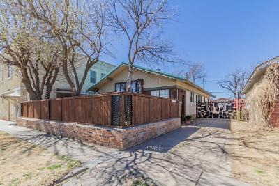 Amarillo Single Family Home For Sale: 1506 Jefferson St
