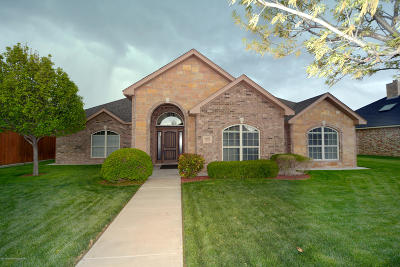 Potter County, Randall County Single Family Home For Sale: 8005 Clearmeadow Dr