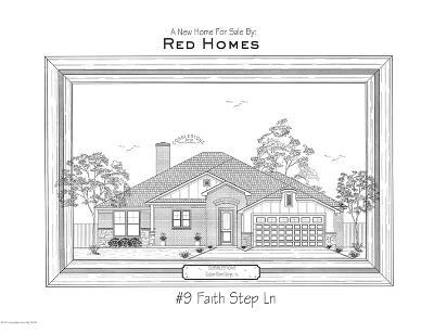Canyon Single Family Home For Sale: 9 Faith Step Ln