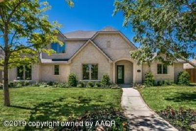 Potter County, Randall County Single Family Home For Sale: 7615 Countryside Dr