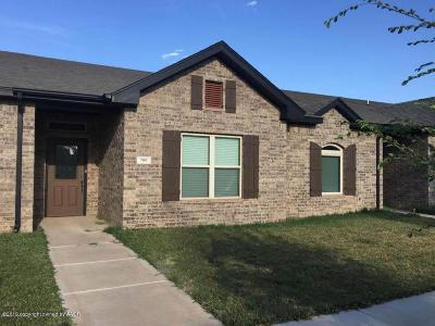 Amarillo Condo/Townhouse For Sale: 7103 Mosley St