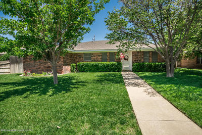 Amarillo Single Family Home For Sale: 6109 Rutgers St