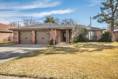 Amarillo Single Family Home For Sale: 4005 Harmony St