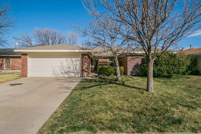 Amarillo Single Family Home For Sale: 5709 Milam St