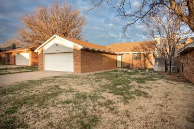 Amarillo Single Family Home For Sale: 1109 Montclair Dr