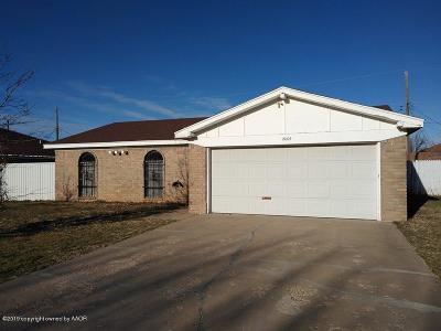 Potter County Single Family Home For Sale: 2005 Jennifer St