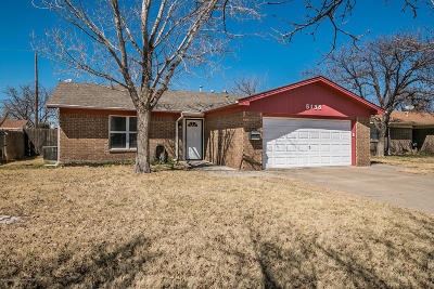Amarillo Single Family Home For Sale: 5138 Leland Dr