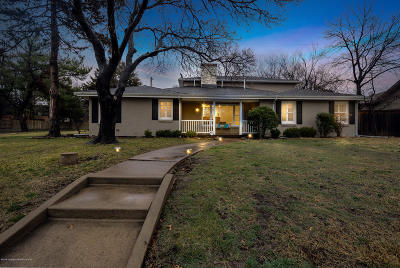 Amarillo Single Family Home For Sale: 3201 Bowie St