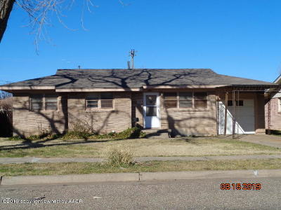 Amarillo Single Family Home For Sale: 3112 Lynette Dr