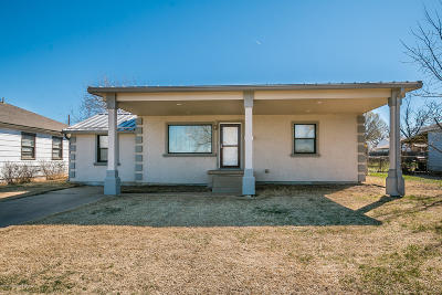 Potter County Single Family Home For Sale: 110 Palo Duro St