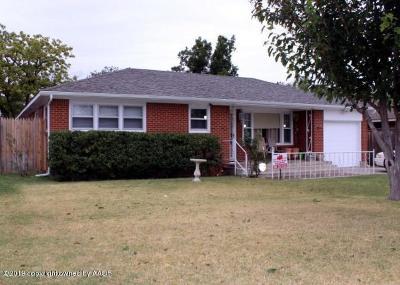 Amarillo Single Family Home For Sale: 3614 Lenwood Dr
