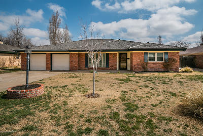 Amarillo Single Family Home For Sale: 3539 Barclay Dr