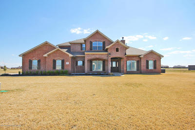 Amarillo Single Family Home For Sale: 18351 Stone Creek Rd