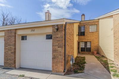 Amarillo Condo/Townhouse For Sale: 1801 Steeplechase Unit 202