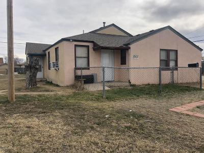 Amarillo Multi Family Home For Sale: 3531 Harrison St