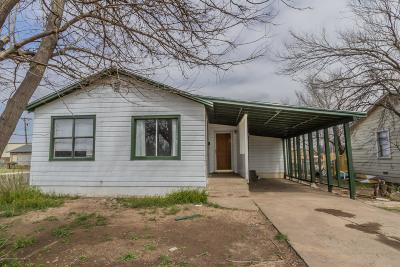 Amarillo Single Family Home For Sale: 1601 20th Ave