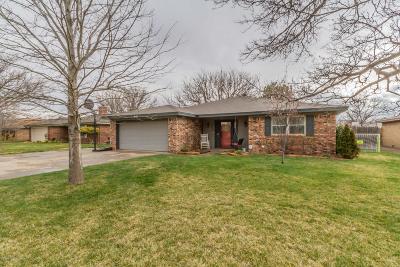 Amarillo Single Family Home For Sale: 6005 Harvard St