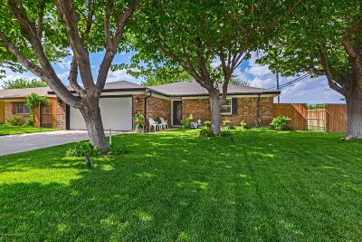 Amarillo Single Family Home For Sale: 6000 Palmetto Trl