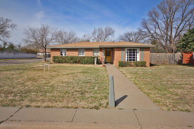 Amarillo Single Family Home For Sale: 3516 Austin St
