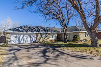Amarillo Single Family Home For Sale: 5512 Everett Ave