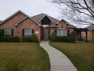Potter County, Randall County Single Family Home For Sale: 6006 Millie Pl