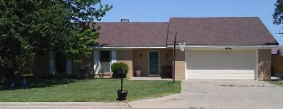 Spearman TX Single Family Home For Sale: $135,000