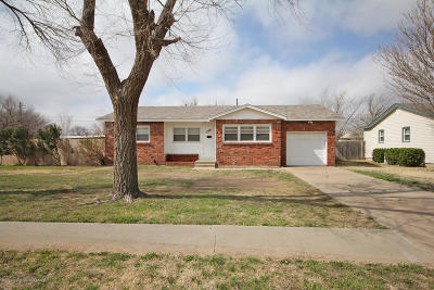 Amarillo Single Family Home For Sale: 5108 Parker St