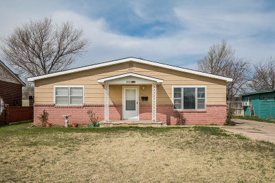 Amarillo Single Family Home For Sale: 2720 Seminole St