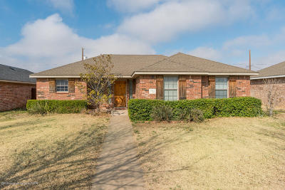Amarillo Single Family Home For Sale: 3812 Pine St