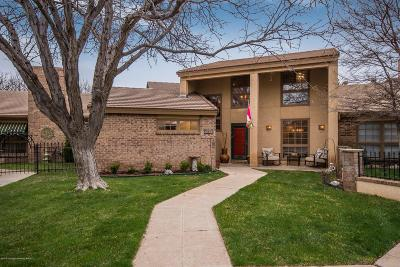 Amarillo Condo/Townhouse For Sale: 3203 Amberwood Ln
