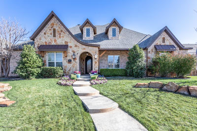 Amarillo Single Family Home For Sale: 7609 Continental Pkwy