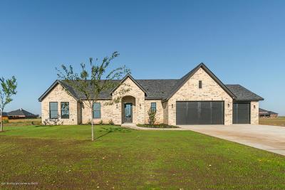 Amarillo Single Family Home For Sale: 9110 Barton Springs Dr