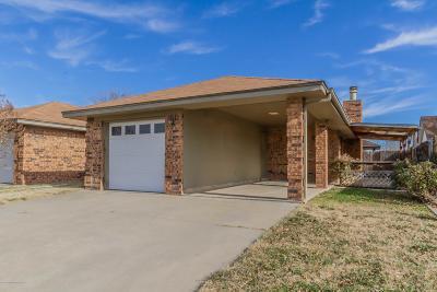 Amarillo Condo/Townhouse For Sale: 5311 Susan Dr