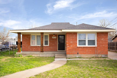 Amarillo Single Family Home For Sale: 4812 10th Ave