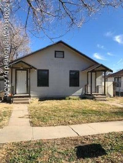 Amarillo Condo/Townhouse For Sale: 807 Louisiana St