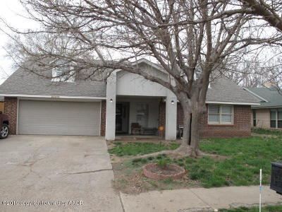 Amarillo Single Family Home For Sale: 6006 Dartmouth St