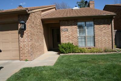 Amarillo Condo/Townhouse For Sale: 3113 Amberwood Ln