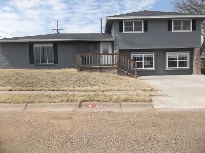 Borger Single Family Home For Sale: 404 Beech