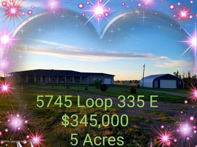 Amarillo Single Family Home For Sale: 5745 Loop 335 East