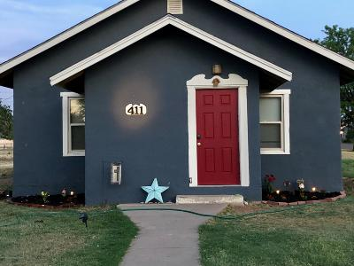 Panhandle Single Family Home For Sale: 409 3rd St.