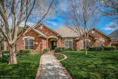 Amarillo Single Family Home For Sale: 5003 Williamsburg Pl