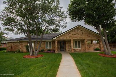 Single Family Home For Sale: 3450 Irving Ln