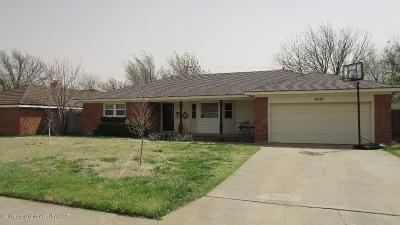 Potter County, Randall County Single Family Home For Sale: 6015 Adirondack Trl