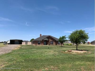Bushland Single Family Home For Sale: 5100 Buffalo Springs Trl